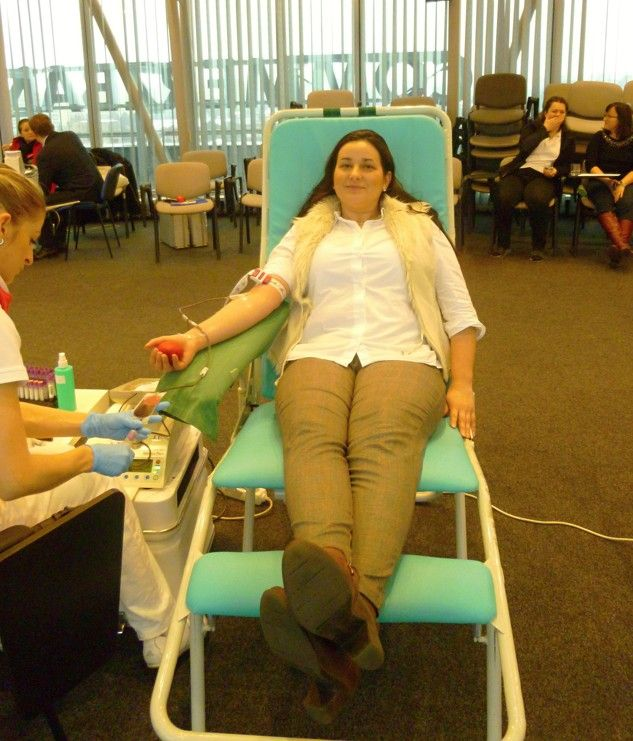 "On 28th of January our colleagues from VSH development, belonging to the CTR group, attended an event ""Kvapka krvi"" - voluntary blood donation - which took place directly in the Business Center Kosice."