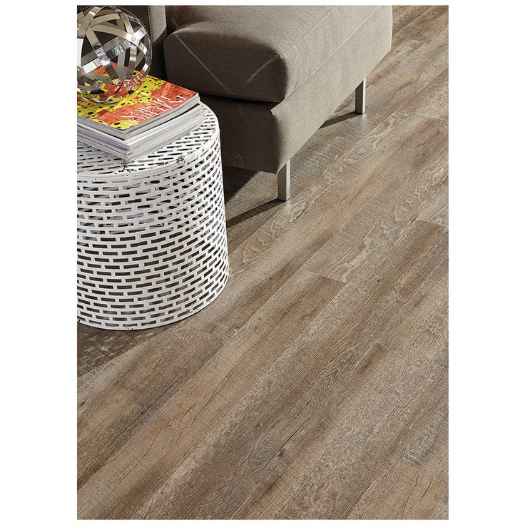 Shop Style Selections 6 In X 36 In Driftwood Gray Peel And Stick Rustic Vinyl Plank At