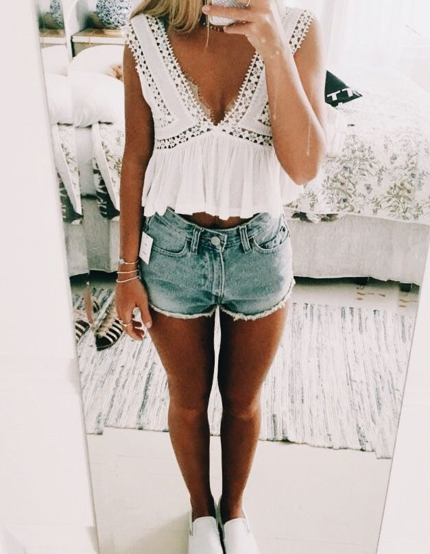 4a2b463e89 Cute outfits for teens summer fashion outfits 2019 | Cute Outfits in ...