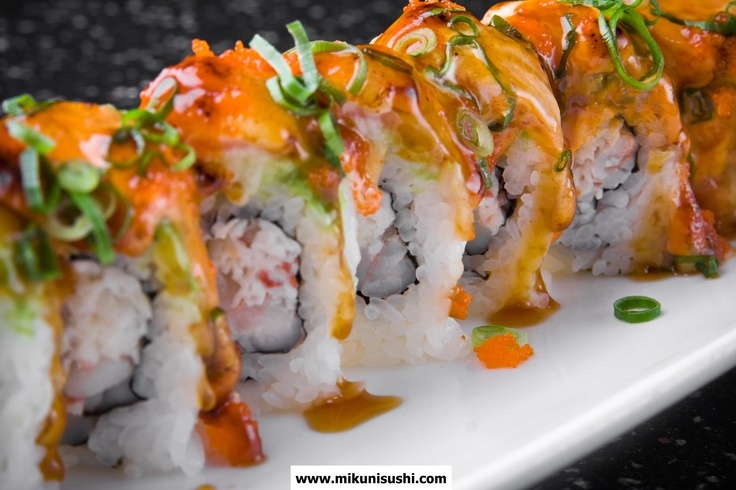 mikuni japanese mafia roll scallop shrimp crab mix