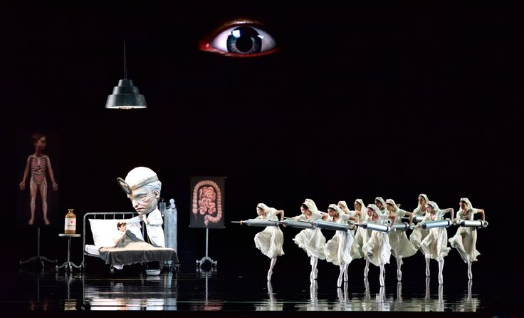 The Pop Surrealist artist has collaborated with American Ballet Theater to imagine a disturbingly fantastical world of candy and pastries for choreographer Alexei Ratmansky's new <i>Whipped Cream.</i> The designs are now on view at New York City's Paul Kasmin Gallery and Metropolitan Opera House.