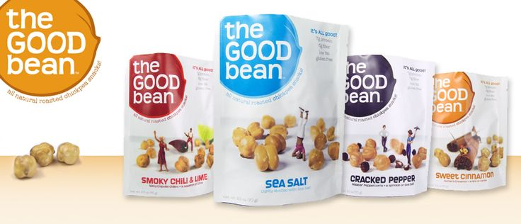 For a healthy snack reach for The Good Beans Fruit and No-Nut Bars to satisfy your hunger.