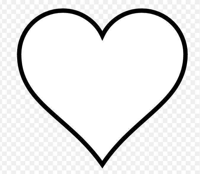 dessin gros coeur | Dessin de coeur, Dessin coeur