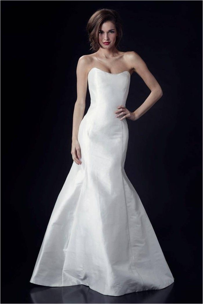 Sophie Paulette Strapless Wedding Dress by Heidi Elnora Fall 2014