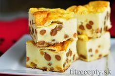 Po tomto zdravom, šťavnatomzákusku sa budete oblizovať za ušami ešte týždeň. Obsahuje iba 74 kcal,až 6g bielkovín na porciu a pripraviť si ho môžete bez pridania cukru. Ak holdujete tvarohu,ručím vám, že sa do neho zamilujete :) Ingrediencie (na 16 porcií): 500g tvarohu 4 vajcia 5 PL krupice (pšeničnej/špaldovej) 1 hrnček mlieka (ľubovoľného) 100g hrozienok […]
