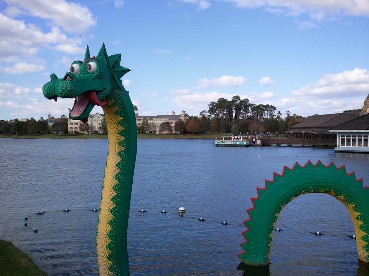 Lego Dragon - Downtown Disney Orlando, FL