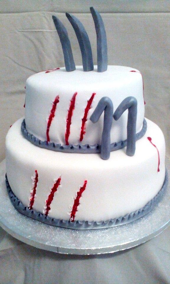 Wolverine Cake by Konstantina Chalkia