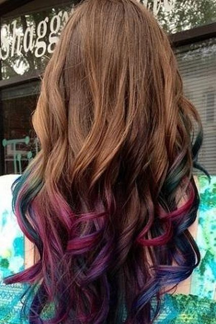 50 trendy ombre hair styles ombre hair color ideas for women underneath hair…