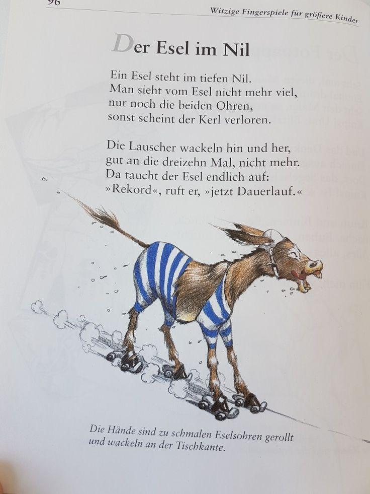 Der Esel im Nil