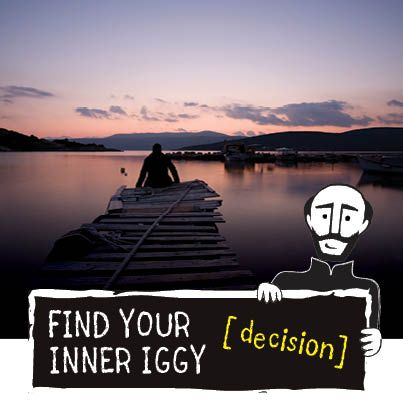 Where have you found God in a decision? Tag your pin with #FindIggy to win cool stuff!