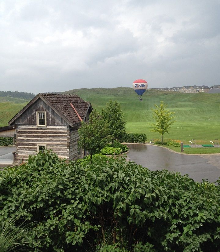 Check out the RE/MAX Balloon standing tall and proud this week in #Caledon!