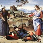 Allegory (or The Knight's Dream)  by Raphael