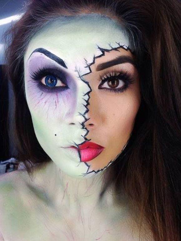 Halloween make-up inspiratie