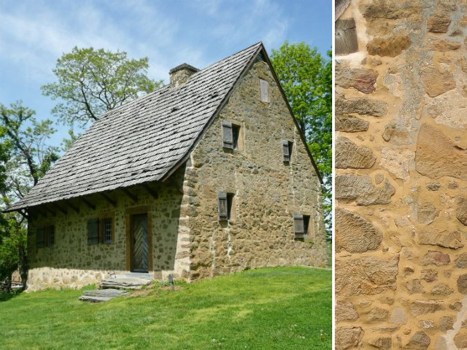 Hans herr house old stone home in lancaster county early for Early american house styles