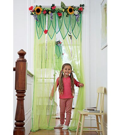 Fairy Room Window Treatments - Curtain Panels