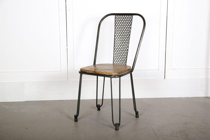 17 meilleures id es propos de chaise industrielle sur - Chaise industrielle pas chere ...