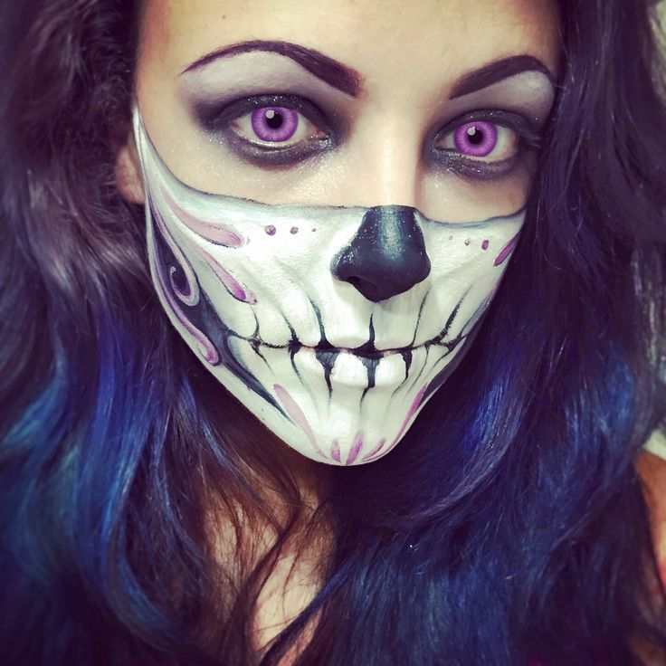 Sexy Skull Makeup Day Of The Dead By Sarah Ashleigh Insta @londonbodypainting | DiaMuertos ...