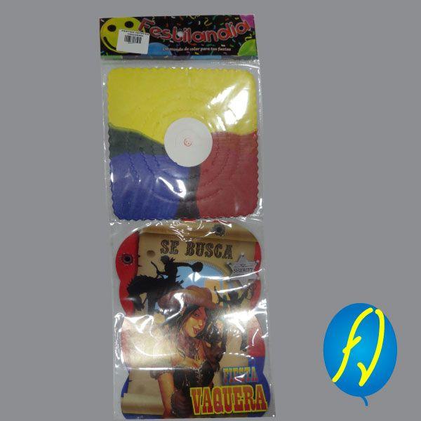 FESTON VAQUERA, un producto más de Piñatería Fiesta Virtual de Colombia - lo puedes ver en http://bit.ly/2ocCwuY. #FiestaVirtual