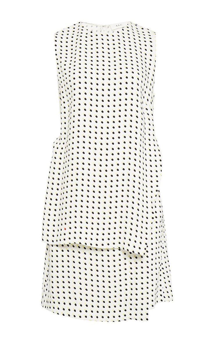 Carey Happy Pills Print Dress by A.L.C. Now Available on Moda Operandi