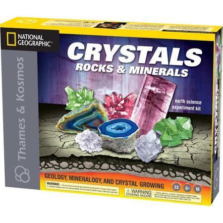 Thames & Kosmos Earth Science and Natural History Crystals Rocks and Minerals Kit
