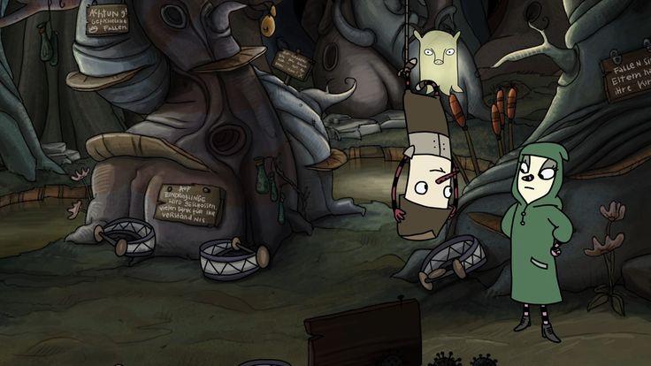 The Inner World | Hall of Gaming - Das Spielemagazin