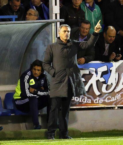 Jose Mourinho en el Collao
