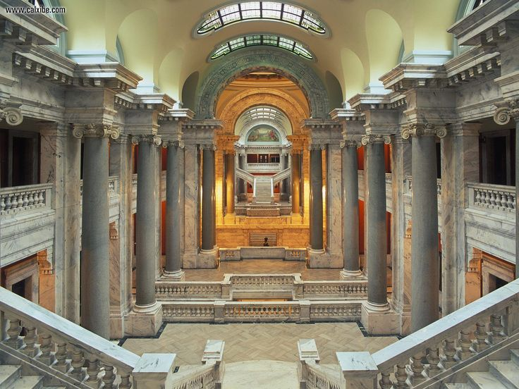 Interior Of The State Capital Building Frankfort Kentucky