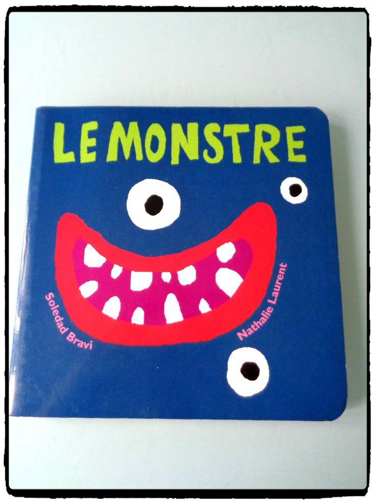 livre le monstre, école des loisirs, activité halloween, enfants