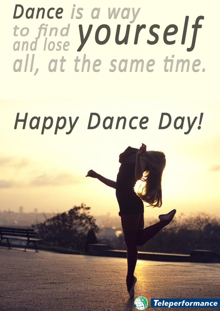 Happy Dance Day!