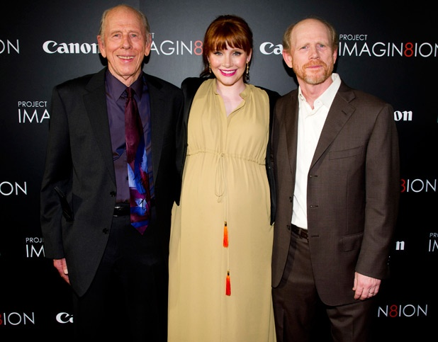 Rance Howard, Bryce Dallas Howard and Ron Howard.  This is what I'm talking about.