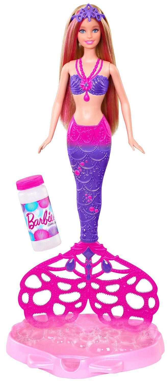 Barbie CFF49 - Sirena Magica Coda: Amazon.it: Giochi e giocattoli