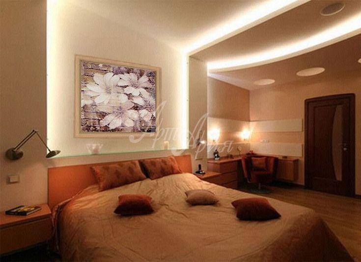 Картины для спальни - оформление интерьера.