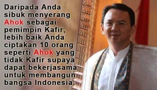 Daripada bebani pikiran dengan kebencian yang membuat hidup jadi terbengkalai lebih baik lakukan ini. #Jakarta #Ahok
