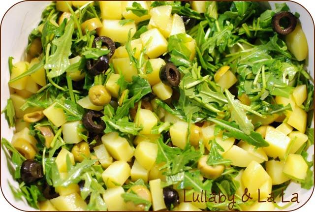Lullaby & La La: Kartoffelsalat a'la mig