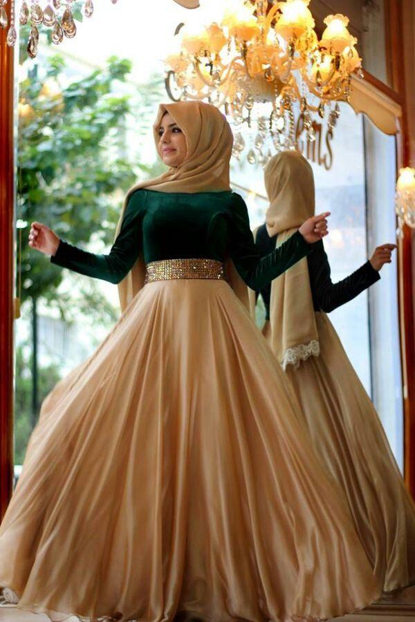#Hijab chic dress