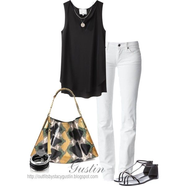 """""""simple black and white"""" - just need a pair of heels: Outfits Clothings, Summer Outfit, Style, Black And White, Black White, Simple Black, Sexy Black, Outfits Clothes Shoes"""