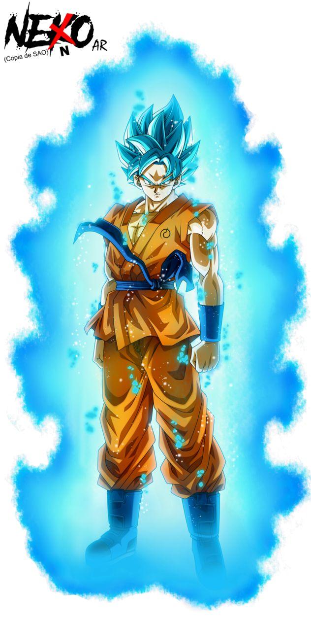 Son Goku Super Saiyan God Super Saiyan: SSB w/Aura by NekoAR