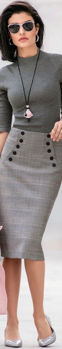 Madeleine Skirt and Sweater 2018
