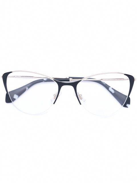 ec1adb7057 Shop Miu Miu Eyewear classic cat eye glasses  MiuMiu