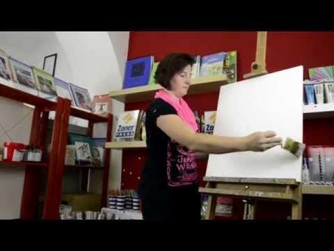 Naučte se malovat: OLEJOMALBA snadno a rychle - YouTube
