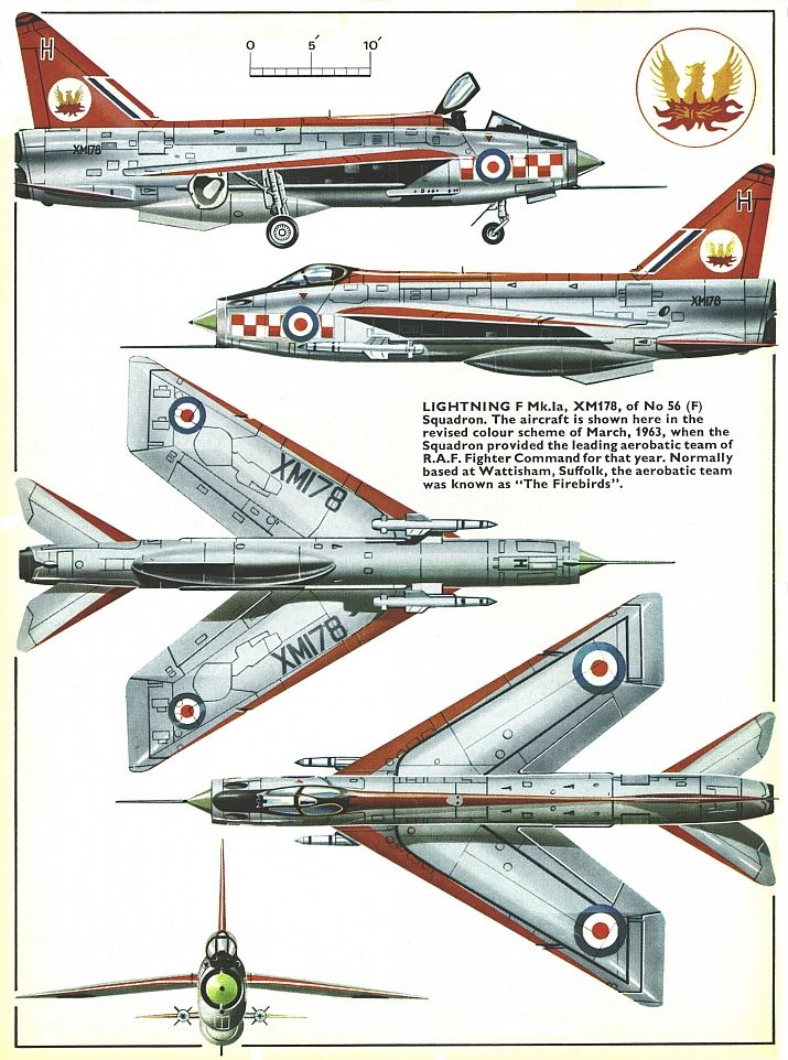 English Electric Lightning F Mk 1a