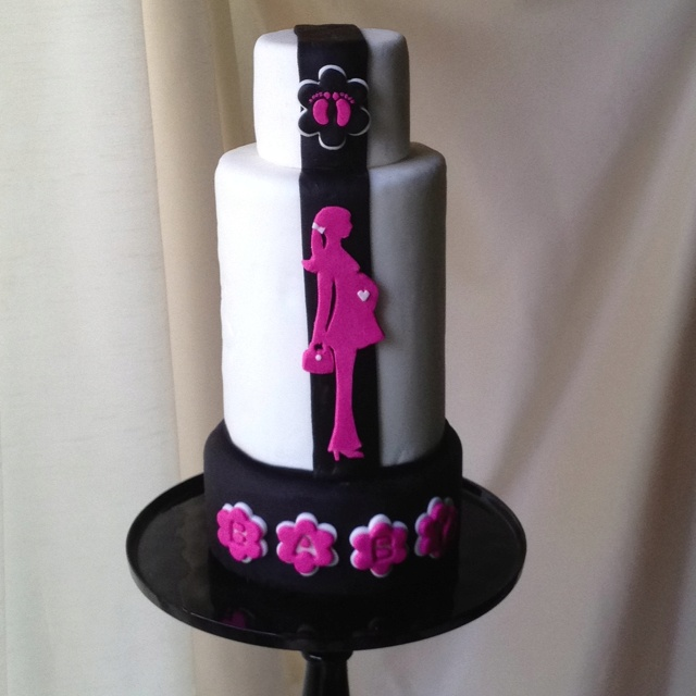 Pink Pregnant Lady Baby Shower cake: Things Cakes, Shower Ideas, Cakes Ideas, Baby Shower Cakes, Lady Baby, Boys Baby