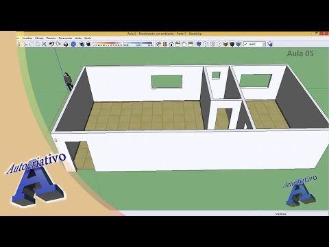 Visite nosso Site: http://www.autocriativo.com.br/ Nosso Blog: http://autocriativoailtonbrito.blogspot.com.br/ Modelagem da alvenaria, portas, janelas e inse...