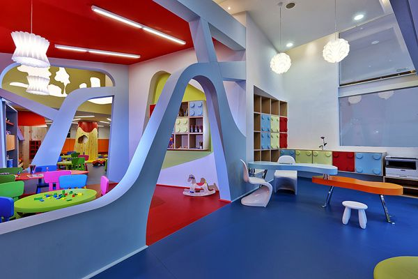 Bobiroupoli Kindergarten On Interior Design Served