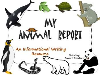 third-grade research and writing animal