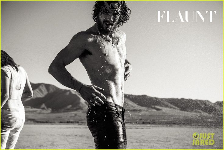 aaron taylor johnson goes shirtless bares butt for 40 photo flaunt spread 38 Aaron Taylor-Johnson flies through the air and sprays paint all over three women on the cover of Flaunt Magazine's Summer Camp issue.    The 25-year-old Avengers:…