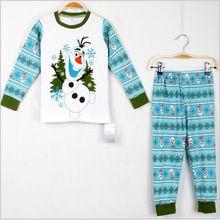 Baby Girl Clothes New 2016 Spring Autumn Xmas Kids Clothes Baby Boy Christmas Pajamas Long Sleeve Cotton Childrens Pijamas Sets(China (Mainland))