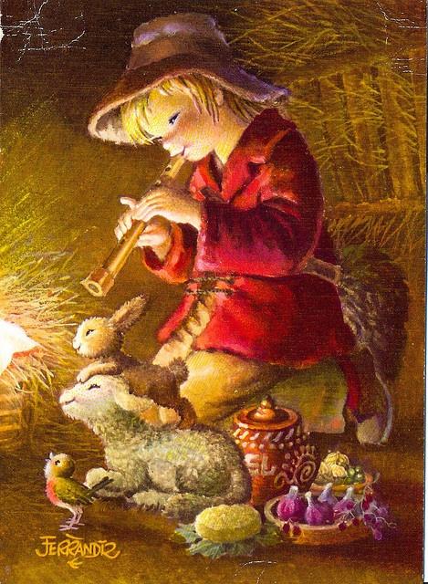 17 best images about ferrandiz on pinterest antigua - Laminas de navidad para colorear ...