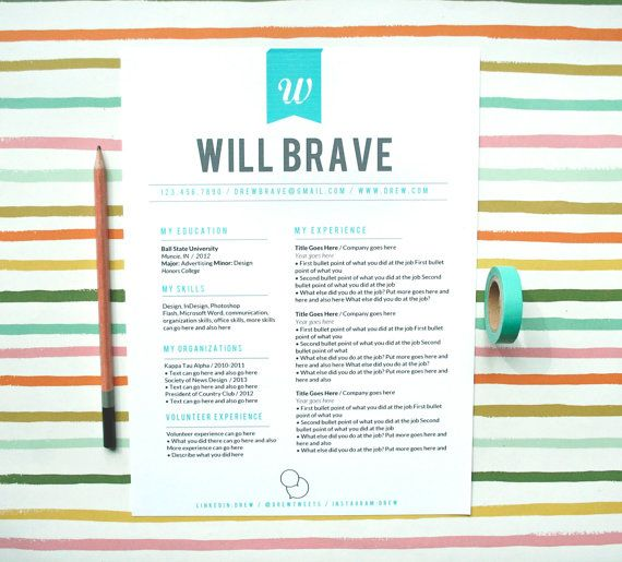 48 best Resume Designs images on Pinterest Interview, Cool stuff - stay at home resume