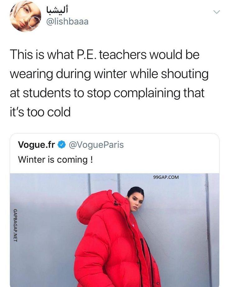 #Funny Meme About #Students vs. Winter #Dresses #fashion